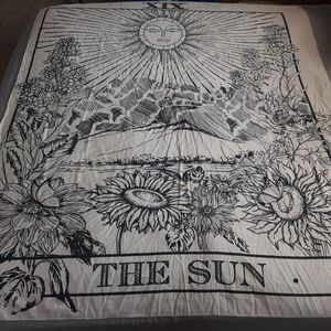Tapestry Sun Over the Valley Large Wall Banner